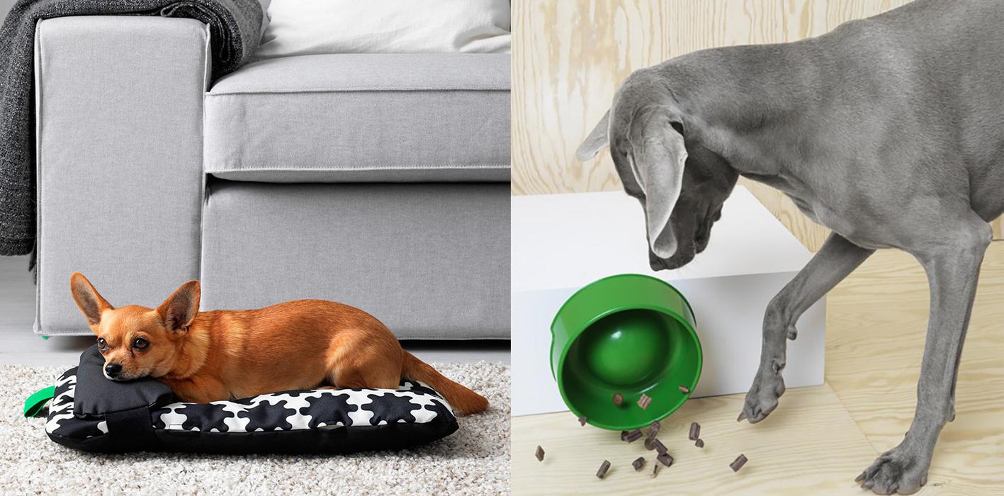 Colección de Ikea para perros